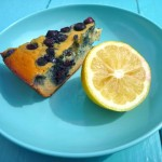 Healthy Lemon or Lemon Poppyseed Cake – Gluten-free, Sugar-free, Dairy-free