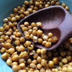 Roasted Chickpea Popcorn
