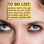 Read this if your to-do list is swallowing you whole: Tips for living your life instead of living your list