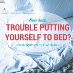 Ever have trouble putting yourself to bed?