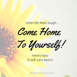 6 self-care basics