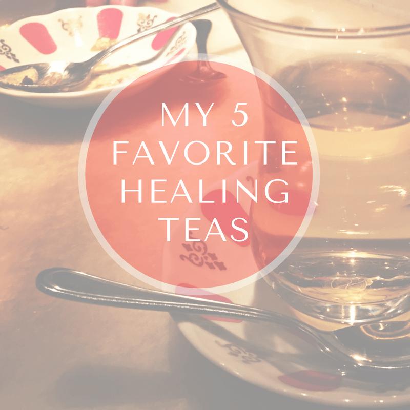 5 best healing herbal teas