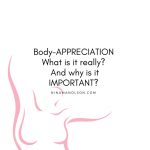 what is Body-Appreciation?